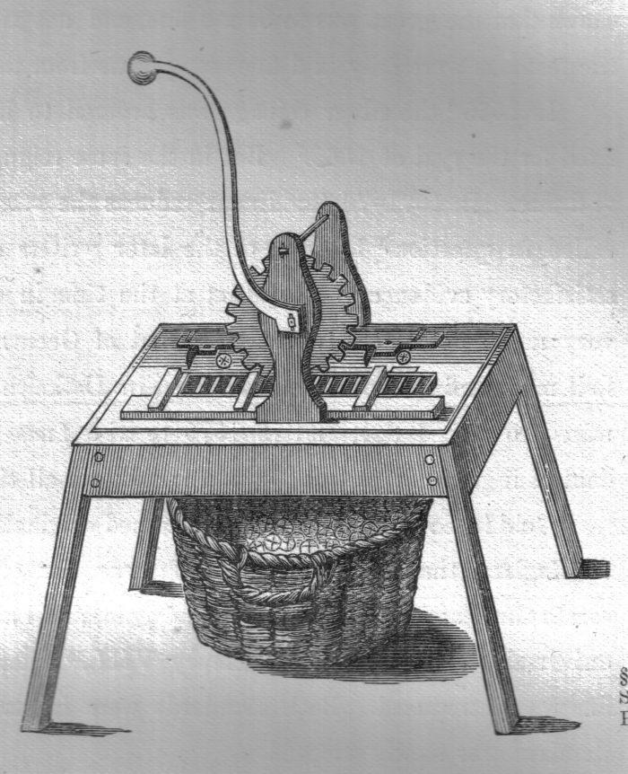 Гуртильный станок. XIX век.
